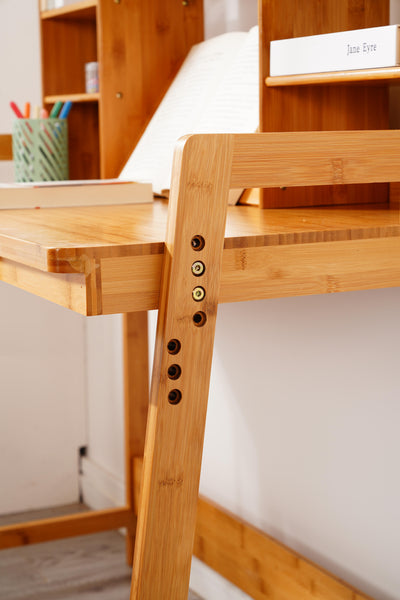 UNICOO - Bamboo Kids Desk Set (Nature - 02)