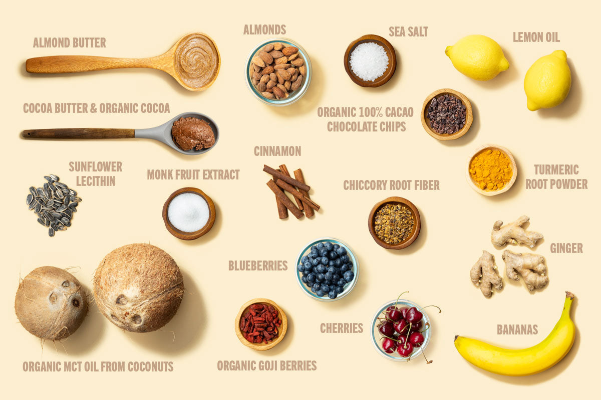 Ingredients in MCT Collagen Bars