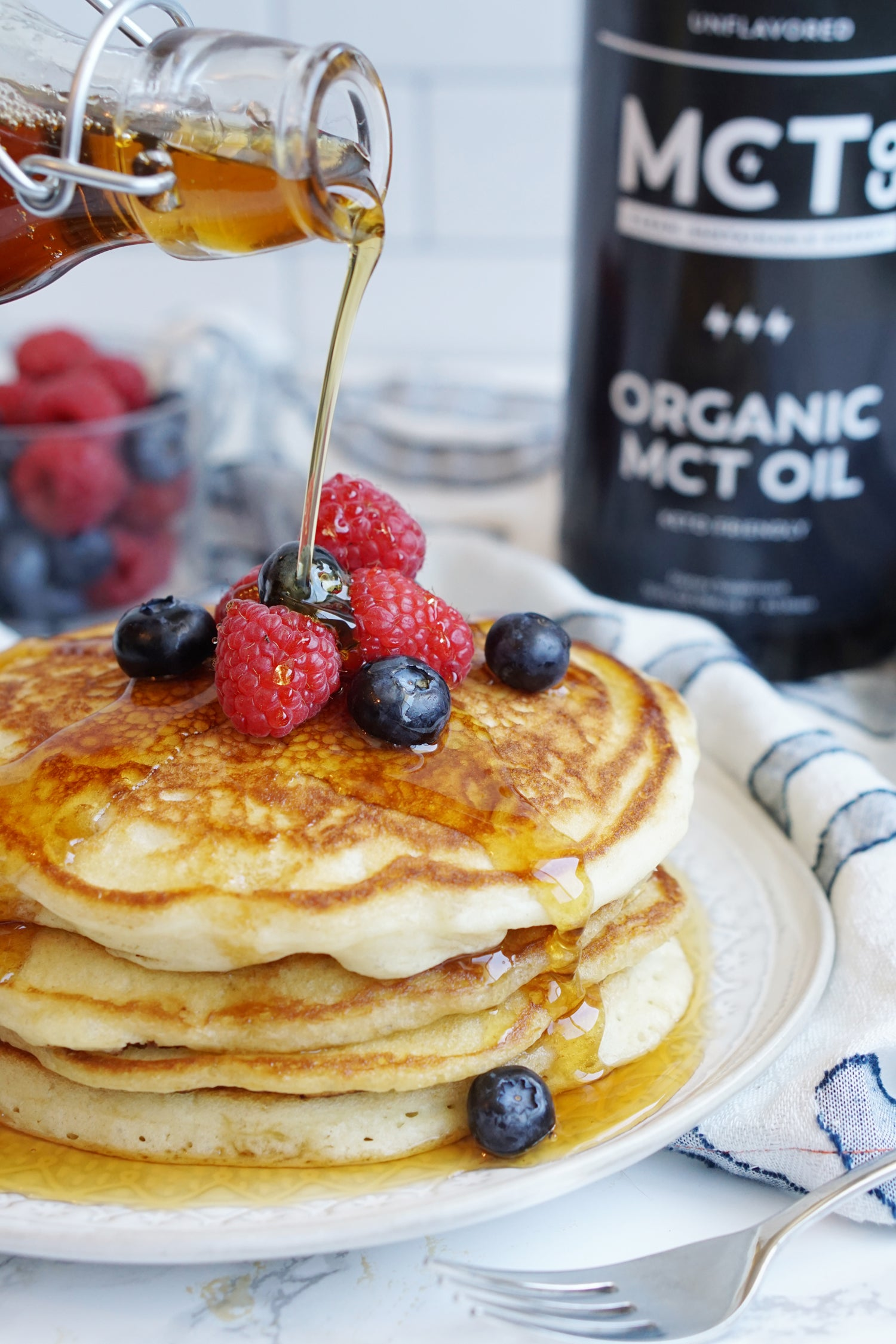 keto-friendly mctoil pancakes