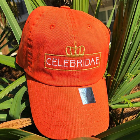 Celebridae Logo Hat - Orange