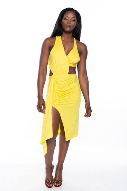 Lemon Shine Dress
