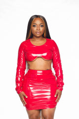 DIVINE LEATHERETTE SET