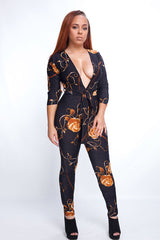 Gold Rose Jumpsuit