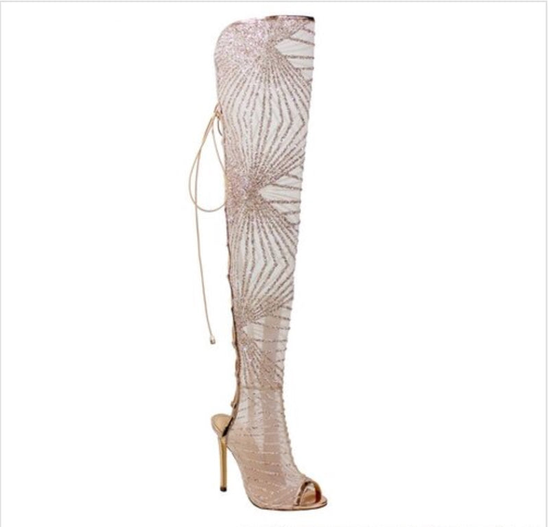 Rozay Shimmer Boots
