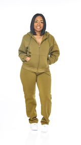 Chill Jogger Set (Olive)