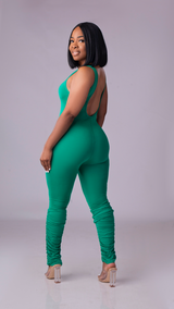 The Bodied Jumpsuit (Green)