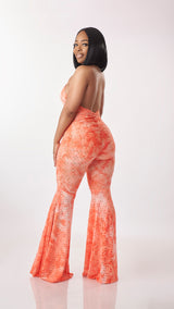 Selena Spring Jumpsuit (Orange)