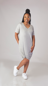 Feel Good Dress (Gray)