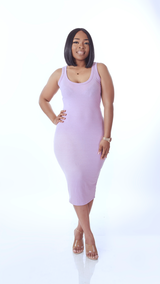 Spring Body Dress (Lavender)