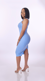 Spring Body Dress (Baby Blue)