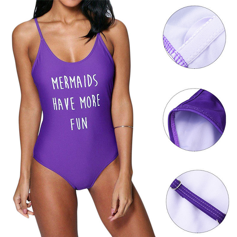 """Mermaids Have More Fun"" (One-Piece) - AH Boutique"