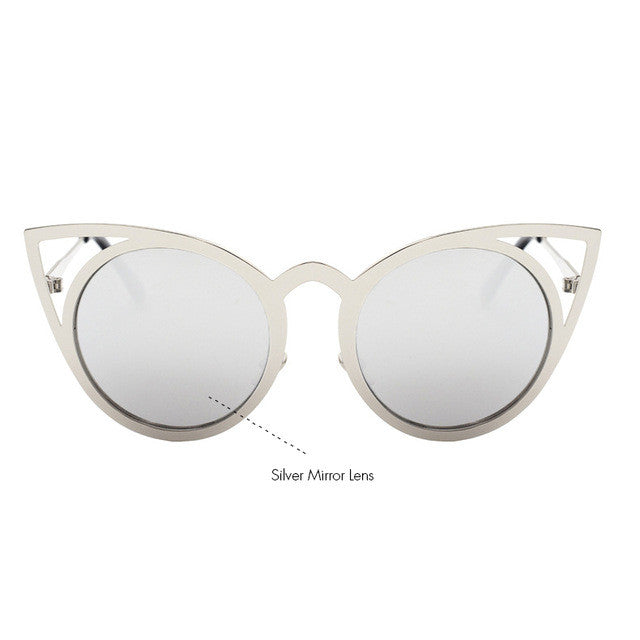 Sexy Sunnys Vintage Cat Eye Sunglasses - AH Boutique