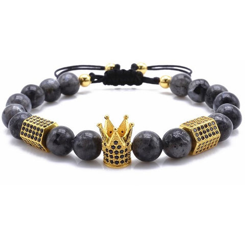 Gold / Granite King Bracelet V2