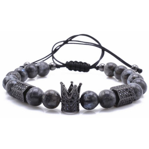 Gunblack / Granite  King Bracelet V2