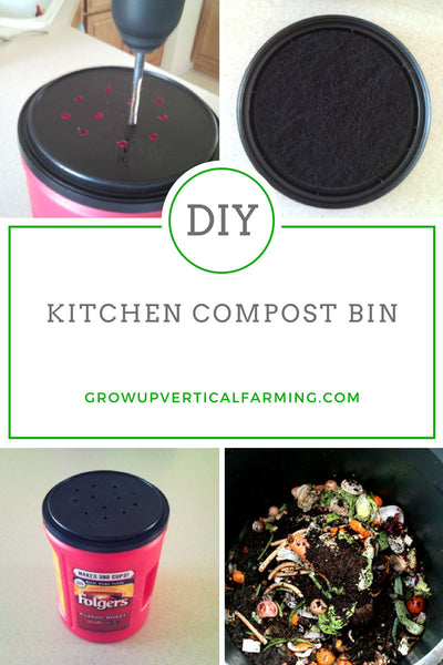 How to make your own compost [in a small space] – Grow Up