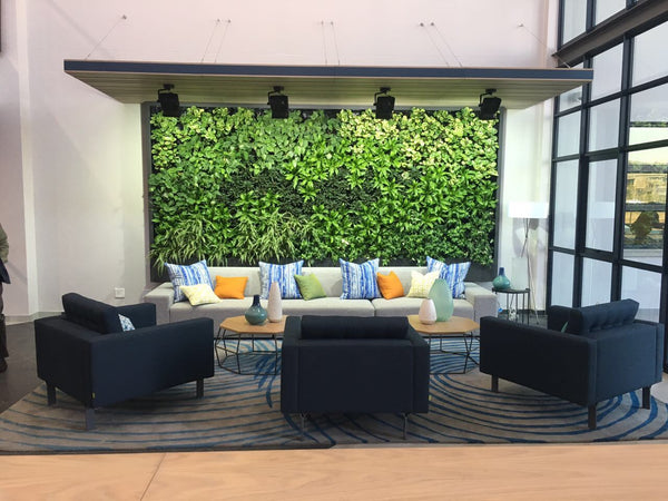Growup vertical farming | Living wall indoors