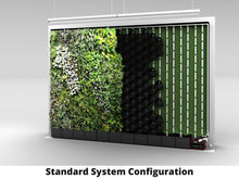 GrowUp Greenwall Kit - 4' Wide x 7' Tall - Recirculating
