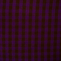 Chequered Parna - Purple & Black