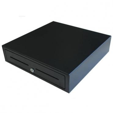 VPOS Cash Drawer EC410 4 Note 8 Coin 24V Black