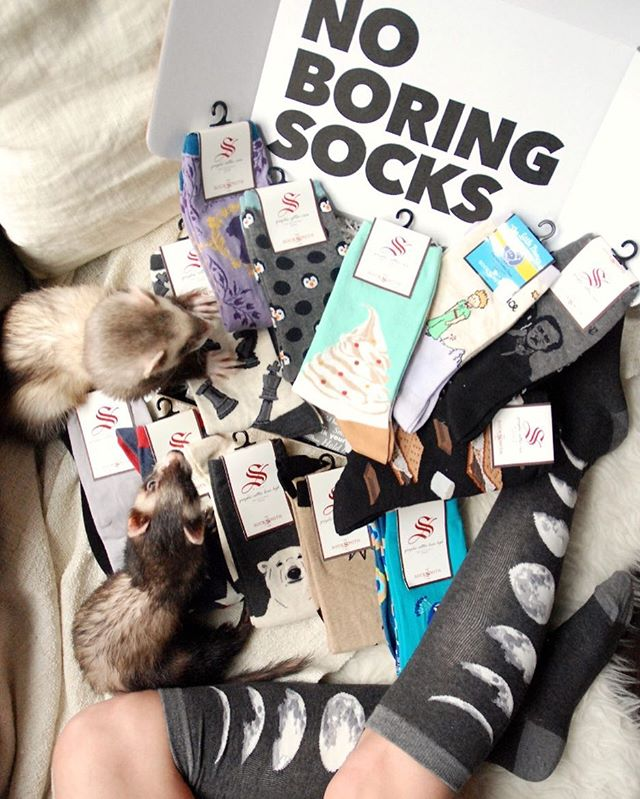 New Year's Re-sock-lutions: No Boring Socks!