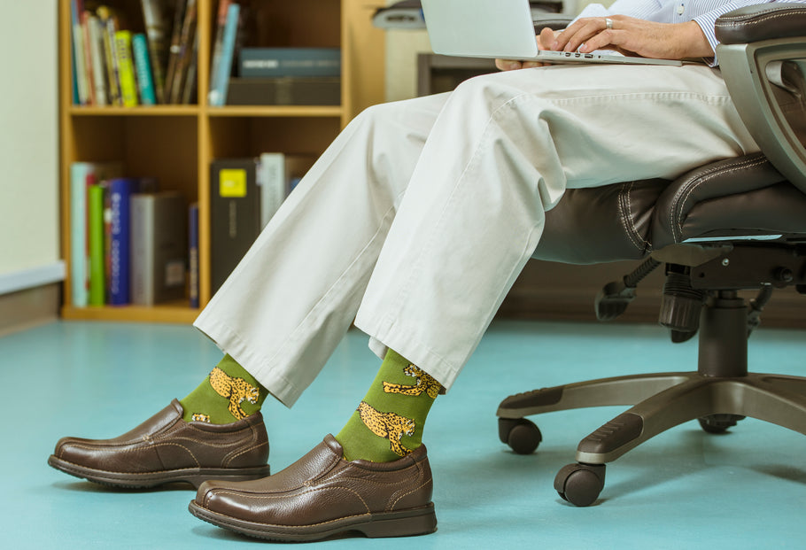 Fancy Up Your Feet with Fun Dress Socks