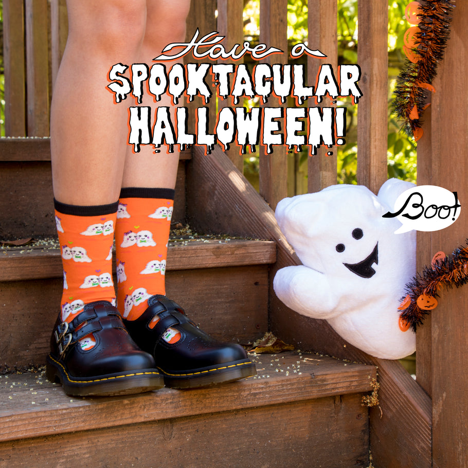 Halloween Socks, With or Without a Costume