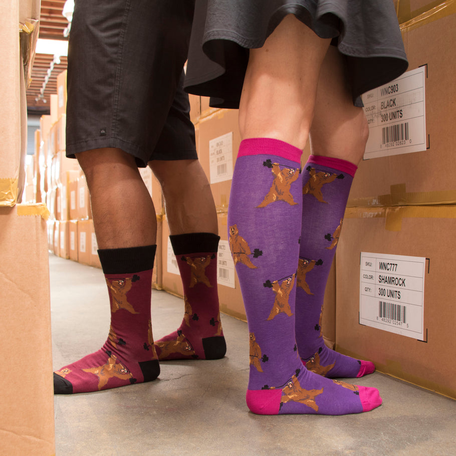 Colorful Socks for Our Colorful Workforce on Labor Day