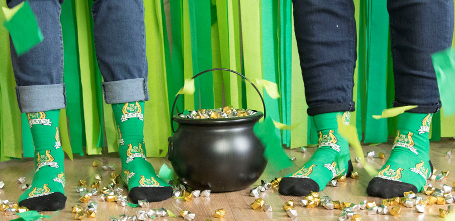 St. Patrick's Day Socks - From Potatoes To Patron Saints