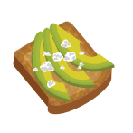 """""""I Avo Crush"""" Toast - make it with our recipe"""