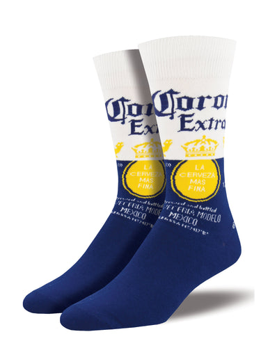 Corona Beer Socks for Men - Shop Now | Socksmith
