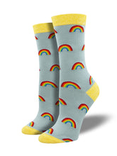 "Women's Bamboo ""On The Bright Side"" Socks"