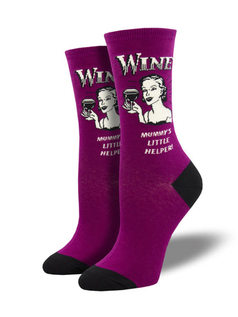 Women's Wine Not Socks