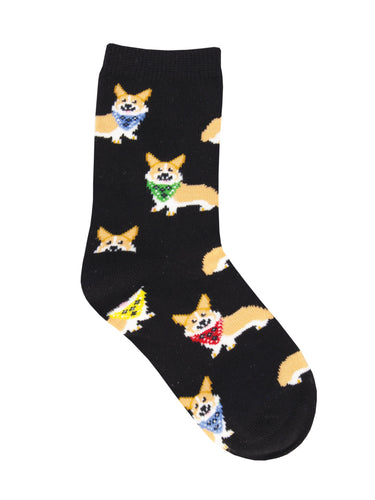 Corgi Dog Socks For Kids - Shop Now | Socksmith