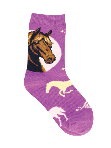 Prancing Pony Horse Socks For Kids - Shop Now | Socksmith