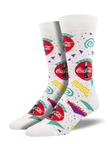90s Coca-Cola Socks for Men - Shop Now | Socksmith