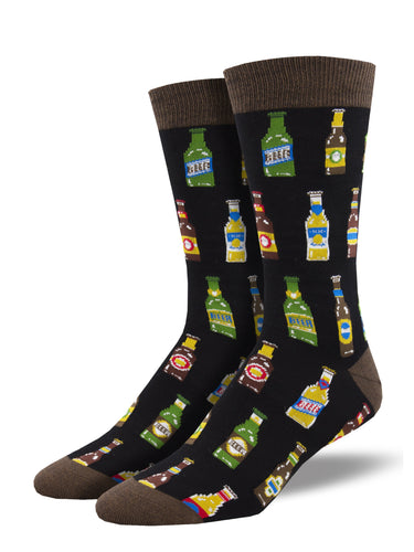 Bamboo 99 Bottles Beer Socks for Men - Shop Now | Socksmith