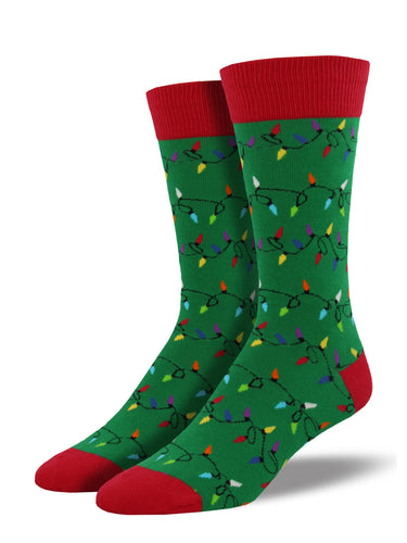 Christmas Lights Socks for Men - Shop Now | Socksmith