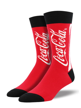 Classic Coca-Cola Socks for Men - Shop Now | Socksmith