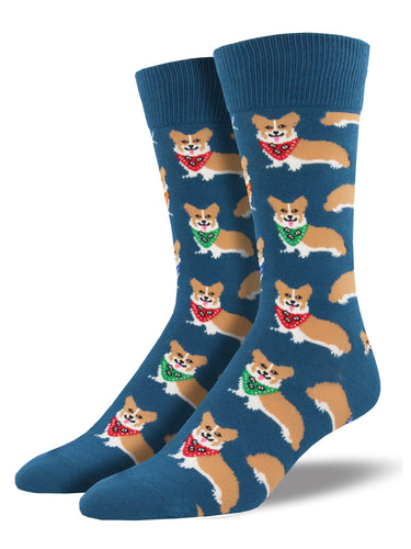 Corgi Dog Socks for Men - Shop Now | Socksmith