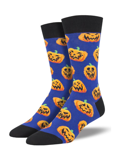 Jack O' Lantern Socks for Men - Shop Now | Socksmith