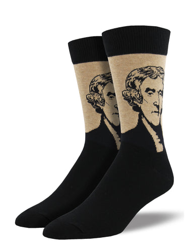 Thomas Jefferson Socks for Men - Shop Now | Socksmith