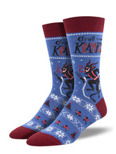 "Men's ""Krampus"" Socks"