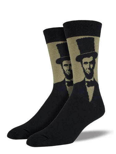 Abe Lincoln Socks for Men - Shop Now | Socksmith