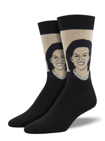 Michelle Obama Socks for Men - Shop Now | Socksmith
