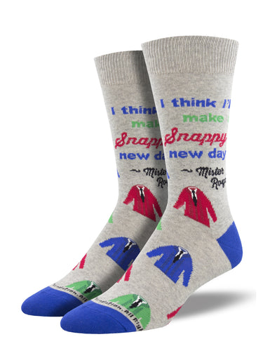 Mister Rogers Quote Socks for Men - Shop Now | Socksmith