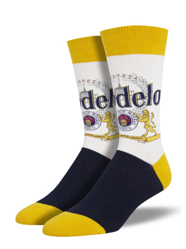 Modelo Beer Socks for Men - Shop Now | Socksmith
