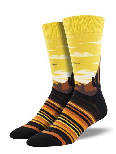 Men's Dress Socks - Painted Sky