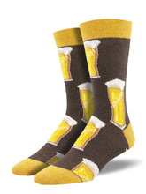 Men's Dress Socks - Beer Cheers