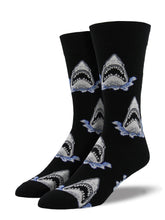 Shark Jaws Socks for Men - Shop Now | Socksmith