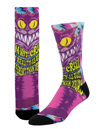 Cheshire Cats Unisex Socks - Shop Now | Socksmith
